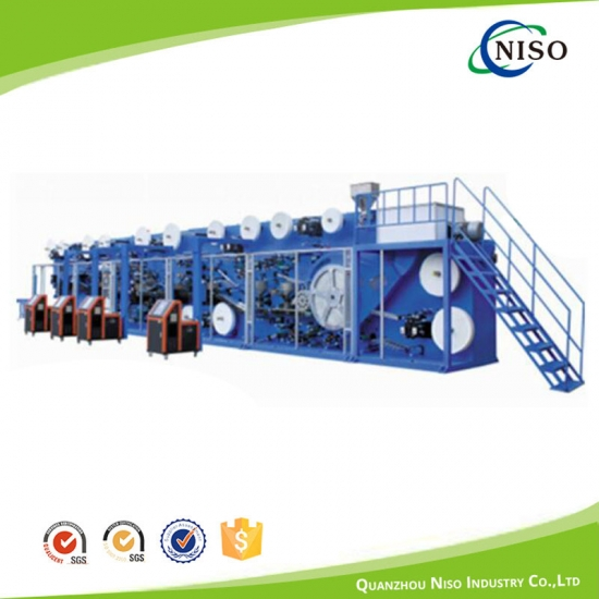 NS-Full Servo I&T Type Baby Diapers Machine