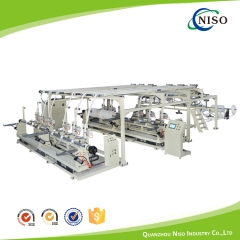 Semi-Automatic Diaper Core Winding Machine